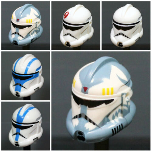 Custom RECON CLONE TROOPER HELMET for Clone Minifigures -Pick Color- Star Wars