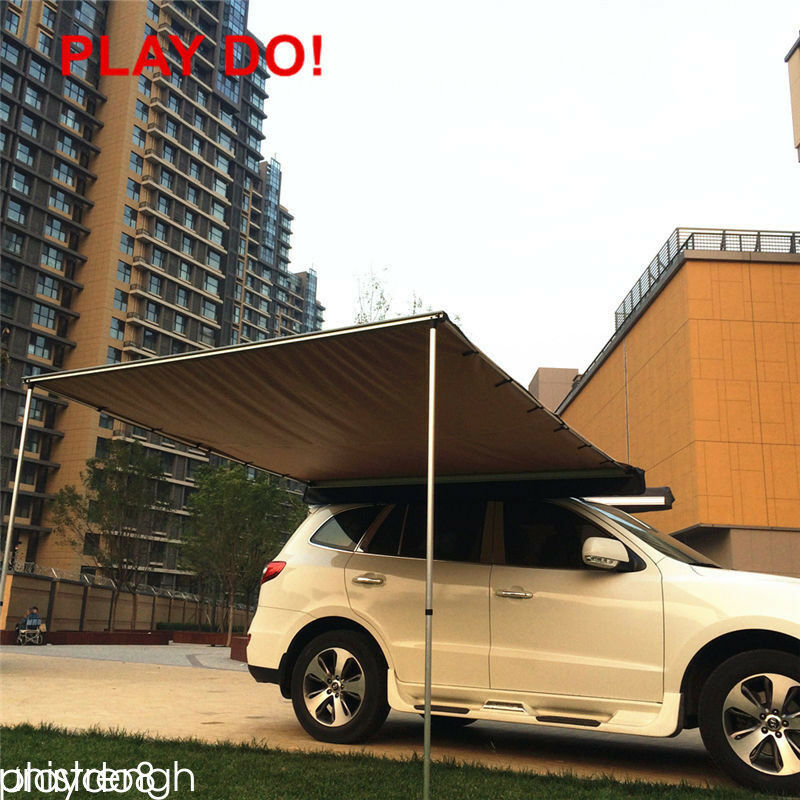 2x 2.5M Car Side Awning Roof Top Tent Oxford Sun Shade
