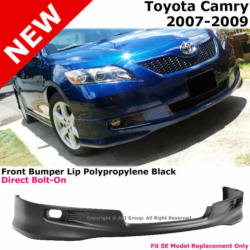Front Bumper Spoiler Lower Lip Se Style Replacement For 2007 2009 Toyota Camry Ebay