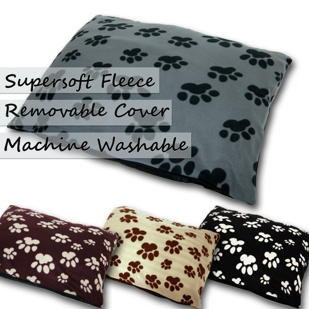 Soft Fleece Large Dog Pet Snuggle Bed Pillow Cover Or