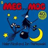 Meg and Mog, Helen Nicoll, Jan Pienkowski | Paperback Book NEW