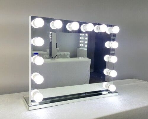 Hollywood Mirror Makeup Vanity Mirror Illuminated Mirror