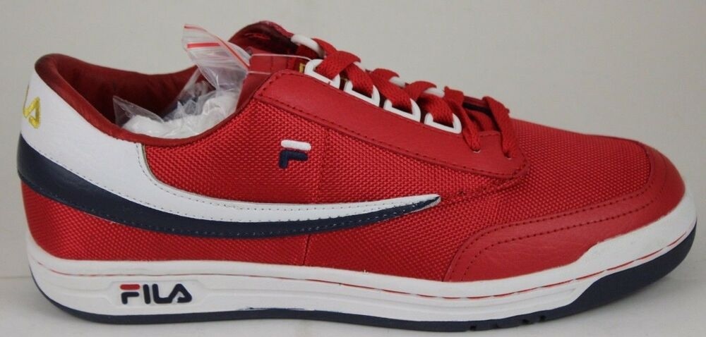 ee889ac289a Details about Men's Fila Retro Heritage Original Tennis Red/White/Navy  1VT13017-620 Brand New