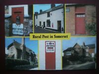 POSTCARD RP ROYAL MAIL MULTI VIEW OF RURAL POST IN SOMERSET