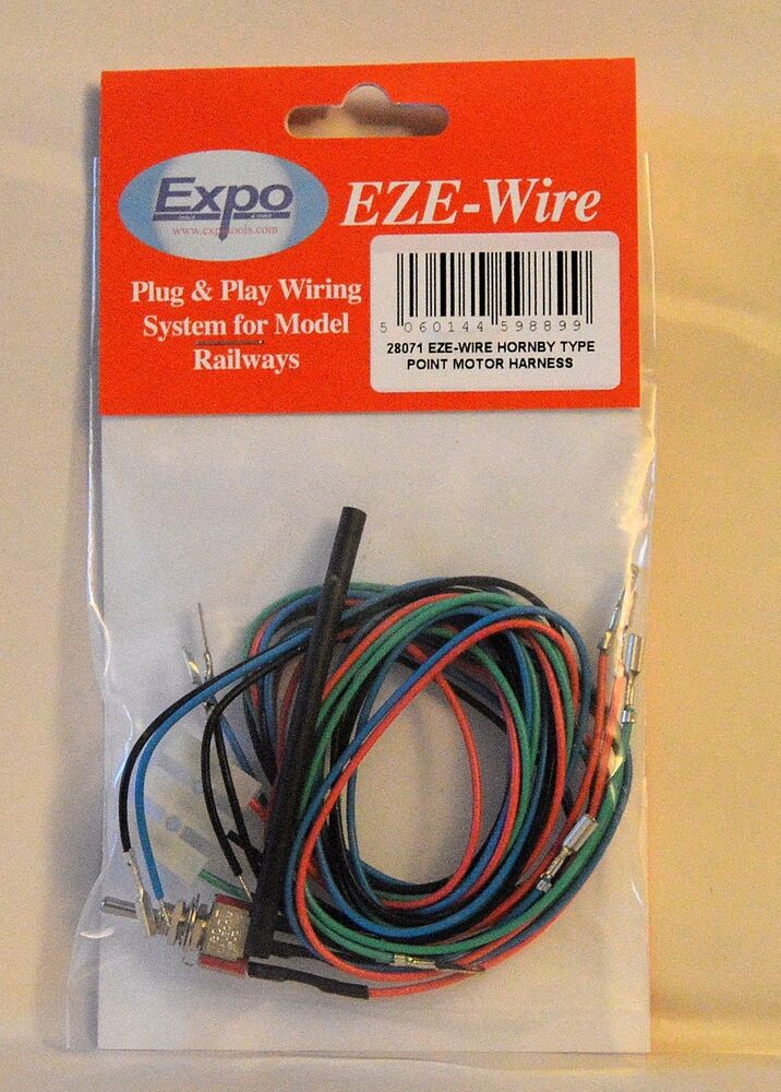 expo tools 28071 eze wire hornby type point motor harness for model rh ebay ie wire harness expo milwaukee Wire Harness Manufacturers
