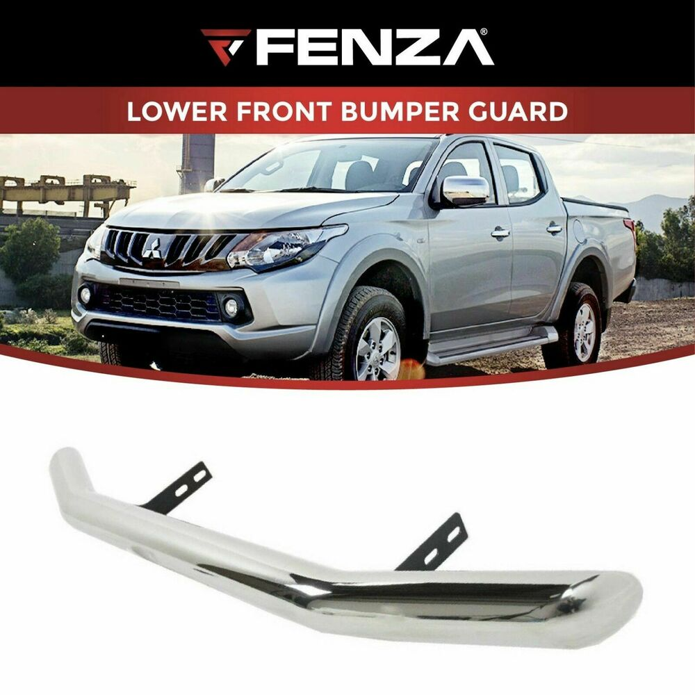 Details About Lower Front Per For 2016 2019 Mitsubishi L200 Triton Pickup Stainless Bar