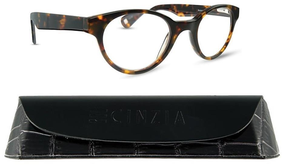 5d507722f86 Details about Cinzia Bookworm Reading Glasses Boutique style very high  quality with Box Case