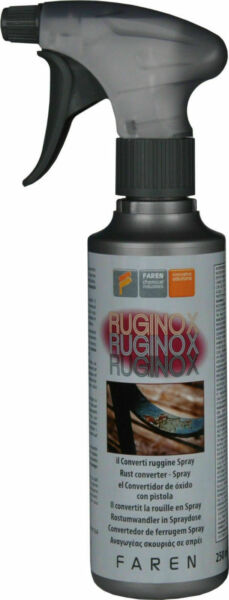 CONVERTITORE RUGGINE FAREN RUGINOX SPRAY SCIOGLI ELIMINA CONVERTI RUGGINE 22438
