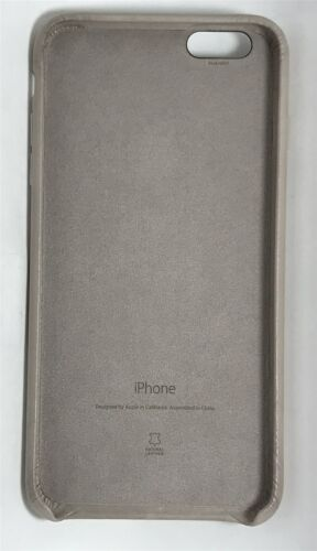 Genuine Apple MKXE2ZM/A iPhone 6/6s Plus Leather Case - Rose Gray