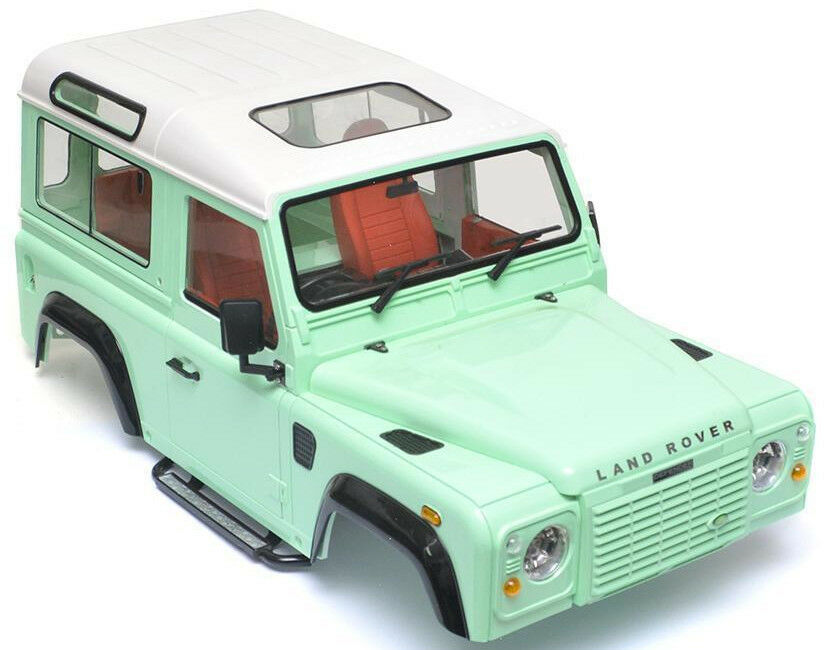 rc 1 10 land rover defender 90 w interior d90 scale truck. Black Bedroom Furniture Sets. Home Design Ideas