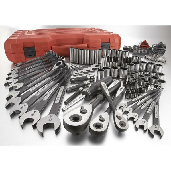 Craftsman 153pc Universal MTS Mechanic Tool Set SAE Inch Metric MM Socket Wrench