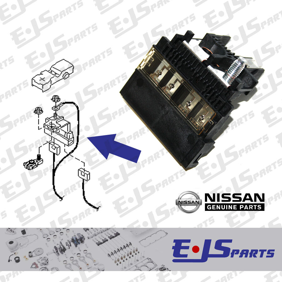 Genuine Fusible Fuse Link Assy For Nissan Micra K12 Note E11e Ebay N16 Box