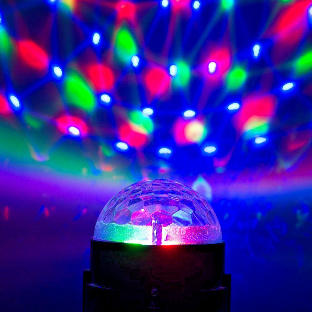mini led disco ball stage lighting dj ball crystal magic light home night party ebay. Black Bedroom Furniture Sets. Home Design Ideas