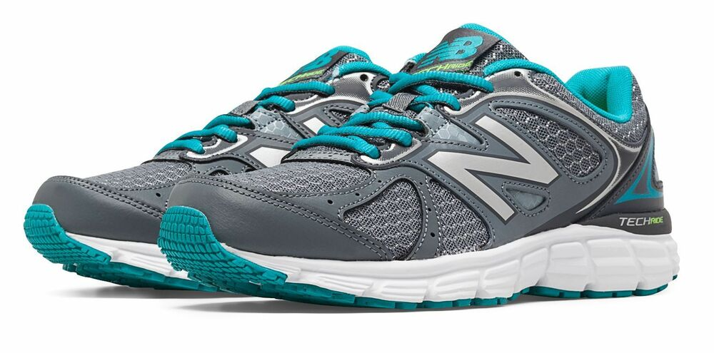 New Balance Women's 560v6 Shoes Grey with Silver & Blue