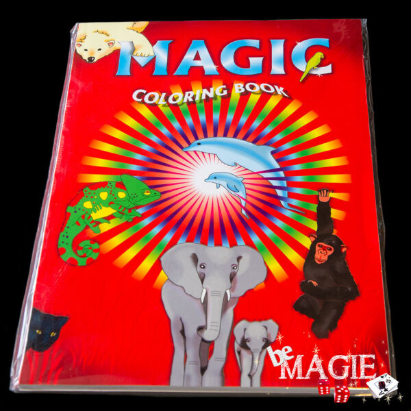Livre de coloriage magique - grand format  -  Magic coloring book Large