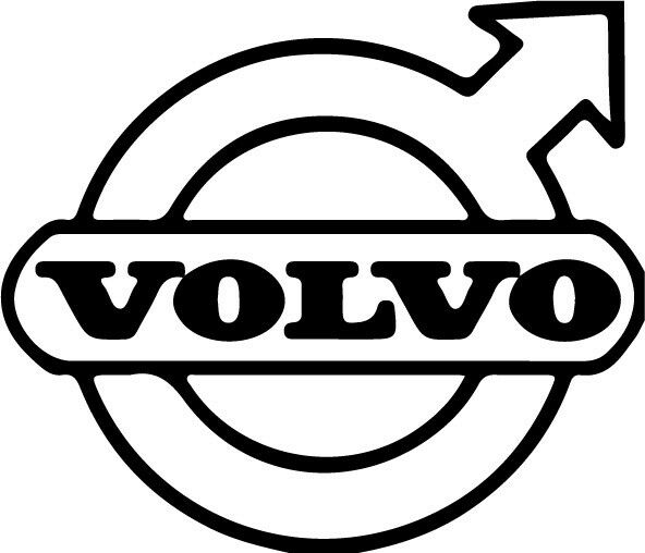 sticker autocollant logo volvo camion truck decals ref volvo032 ebay. Black Bedroom Furniture Sets. Home Design Ideas