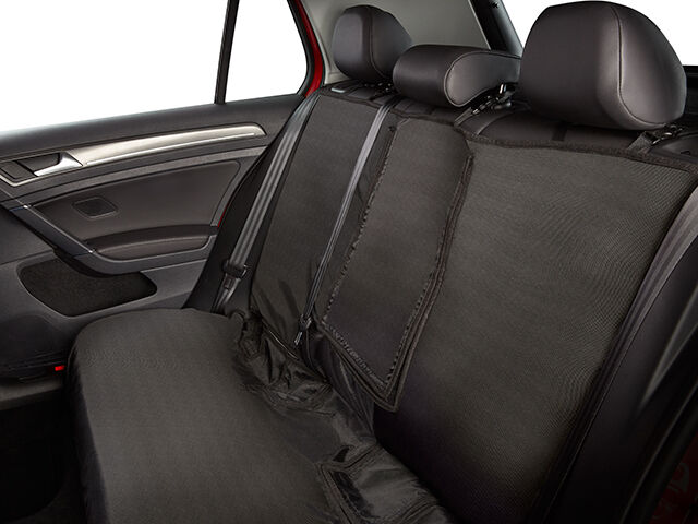 2011 2017 Vw Volkswagen Touareg Rear Black Seat Cover With