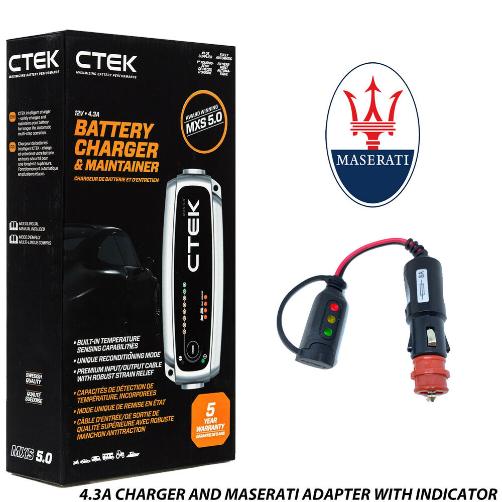 rolls royce ctek mxs 5 0 battery charger tender adapter. Black Bedroom Furniture Sets. Home Design Ideas
