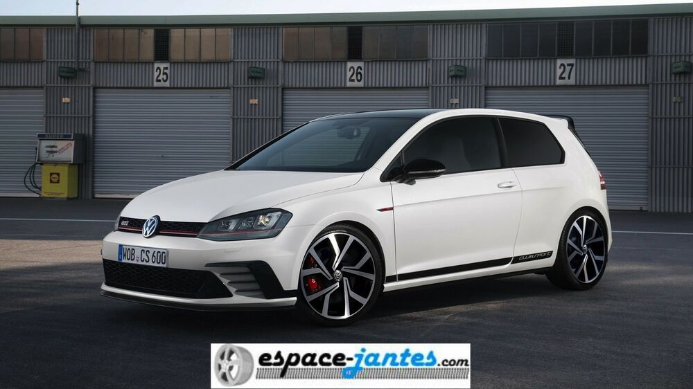 4 jantes alu neuves type vw golf 7 vii gti clubsport 19 scirocco passat ebay. Black Bedroom Furniture Sets. Home Design Ideas