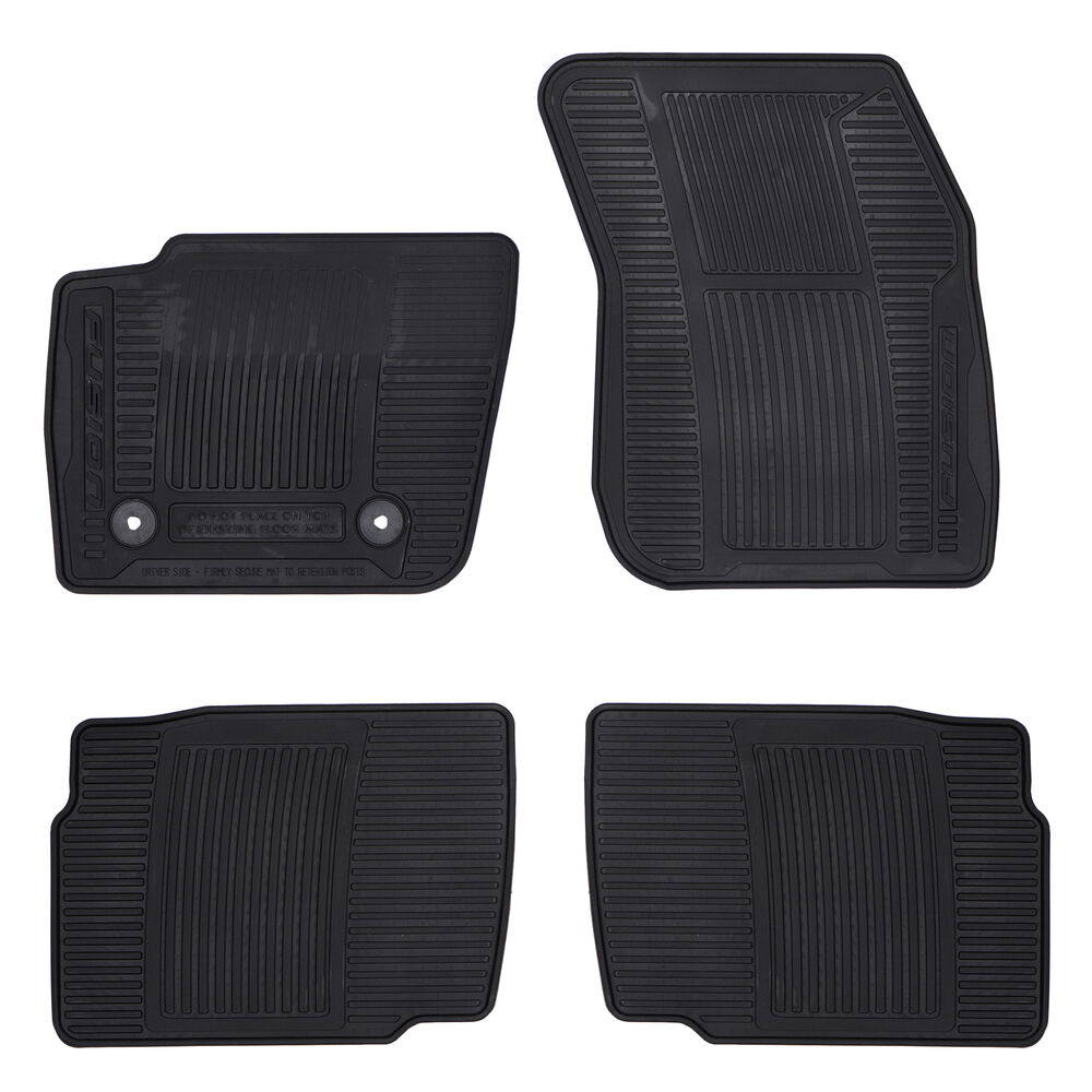 Oem New Front Amp Rear All Weather Floor Mats 2013 2016 Ford