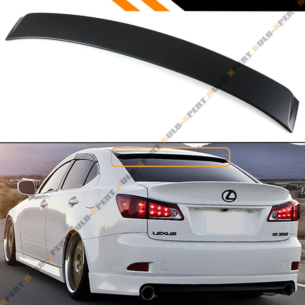 Lexus Sport: FOR 2006-13 LEXUS IS 250/350/ ISF F SPORT VIP STYLE REAR
