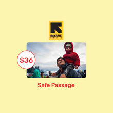 $36 Safe Passage IRC Charitable Donation