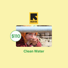 $110 Clean Water IRC Charitable Donation