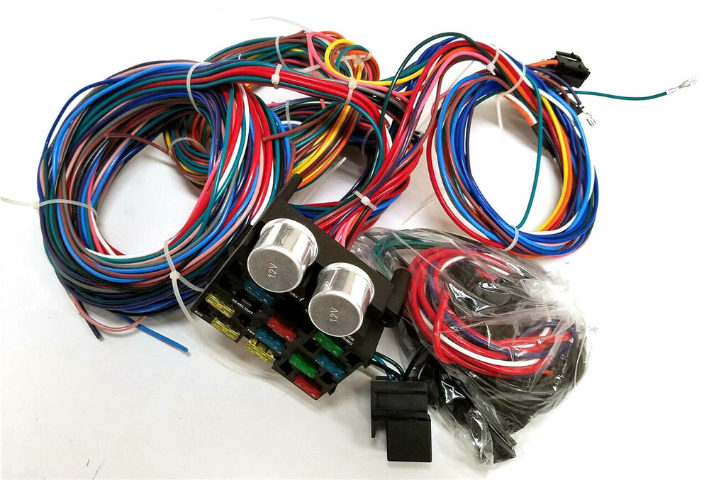 1947 1954 chevy pickup truck 12 circuit wiring harness wire kitdetails about 1947 1954 chevy pickup truck 12 circuit wiring harness wire kit chevrolet