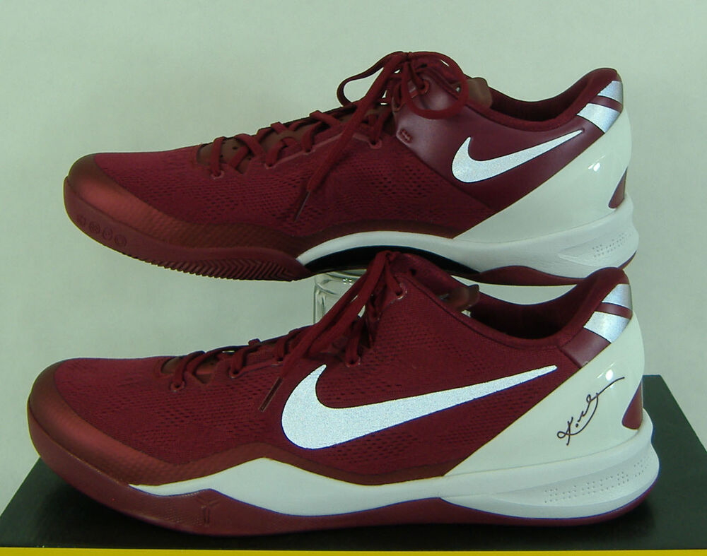 hot sale online a603d 48598 Details about New Mens 16 NIKE Kobe 8 System TB Maroon Basketball Shoes   150 599520-601