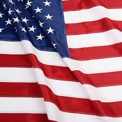 Kyпить Anley EverStrong American US Flag Heavy Duty Nylon - Embroidered Stars USA Flags на еВаy.соm