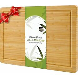 Kyпить Extra Large Bamboo Cutting Board 17 x 12 Inches  Utopia Kitchen на еВаy.соm