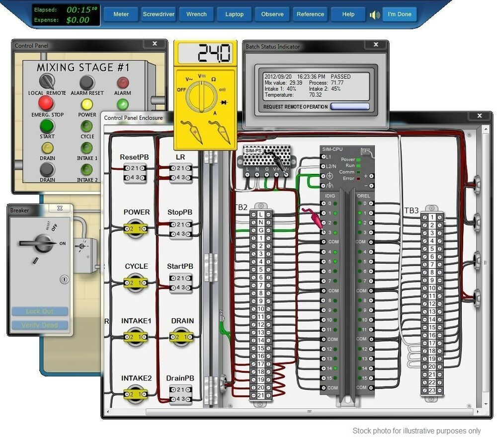 Programming Logic Controllers Plc Training Simulation
