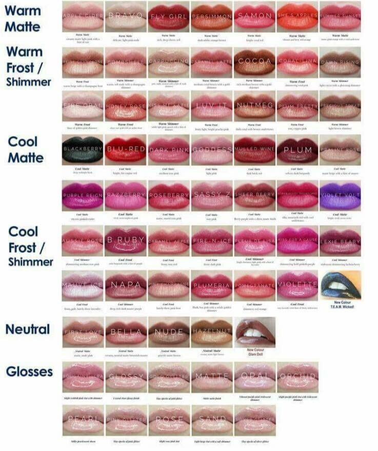 New Lipsense By Senegence Long Lasting Lip Color  Limited -7769