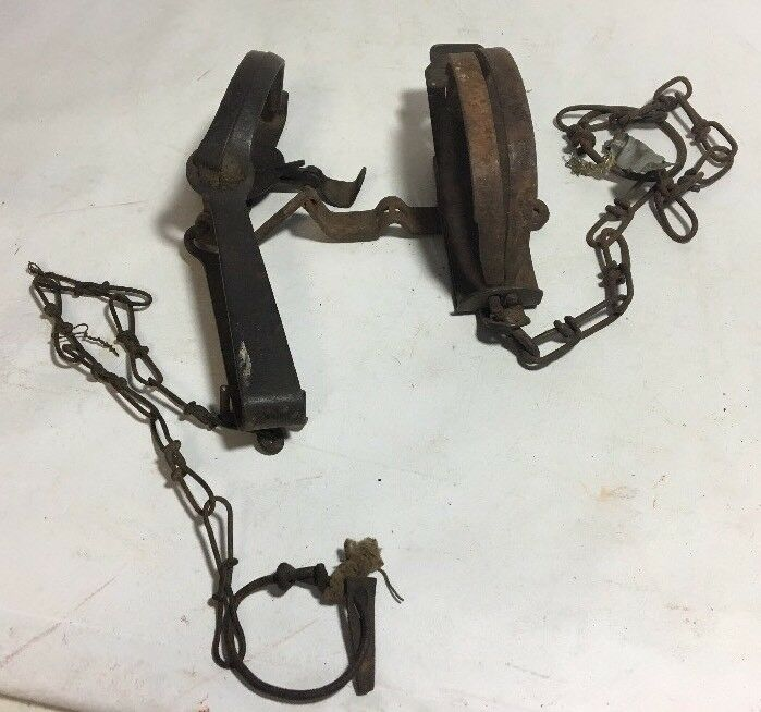 2 Vtg Traps. One Triumph No. 1. Other Is Unmarked