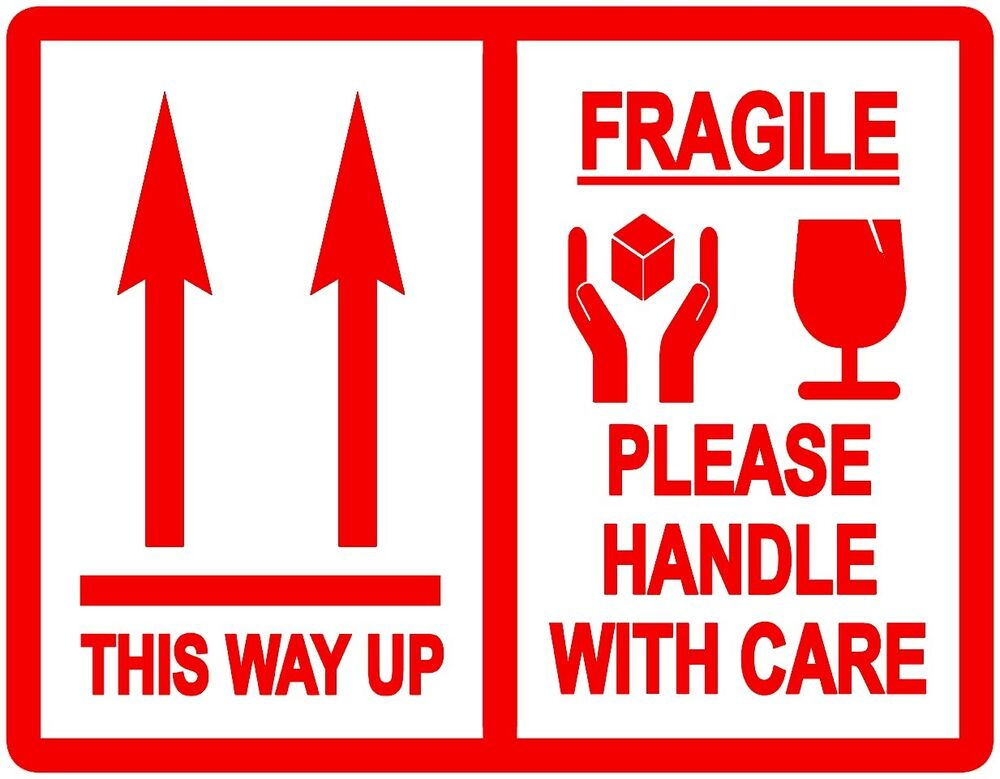 This Way Up / Fragile Please Handle With Care - Packing ...  This Way Up / F...