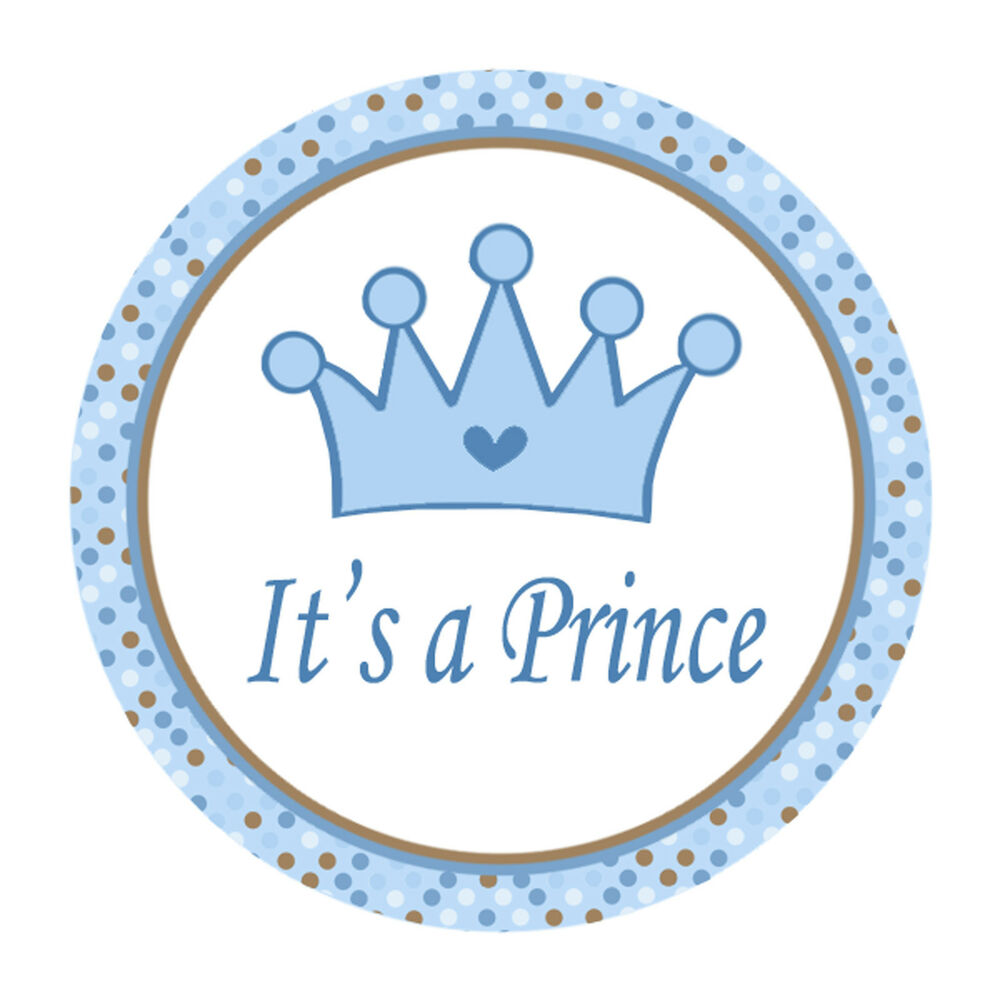 40 Stickers Personalized Prince Thank You Labels Prince