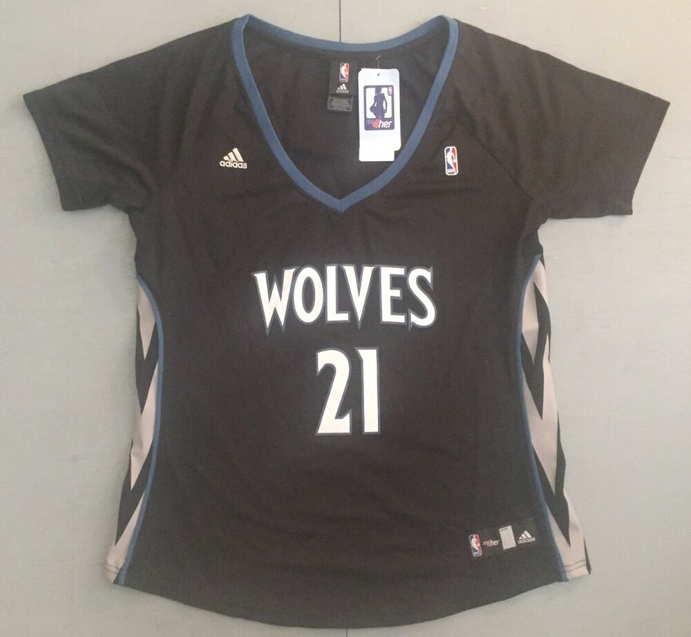 e13a23326 NBA Minnesota Timberwolves Kevin Garnett Women s XL Basketball Jersey  Retail  70