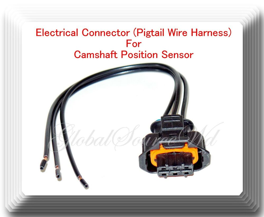 Electrical Connector (Pigtail Wire Harness) For Camshaft Position Sensor  PC641 601871672503 | eBay