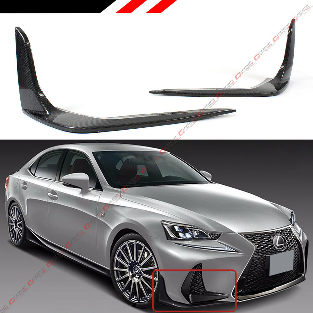Lexus: FOR 2017-18 LEXUS IS200T IS350 IS300 F SPORT CARBON FIBER