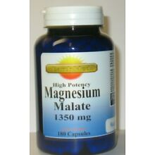 Magnesium Malate High Potency 1350mg 180 Capsules