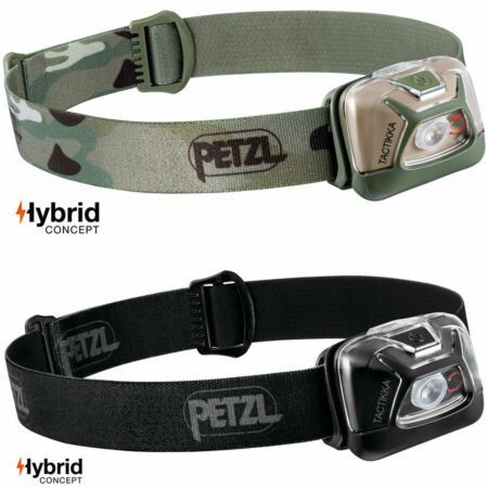 img-Petzl Tactikka Hybrid Tactical Military Army Work LED Head Torch Headlamp 300 lm