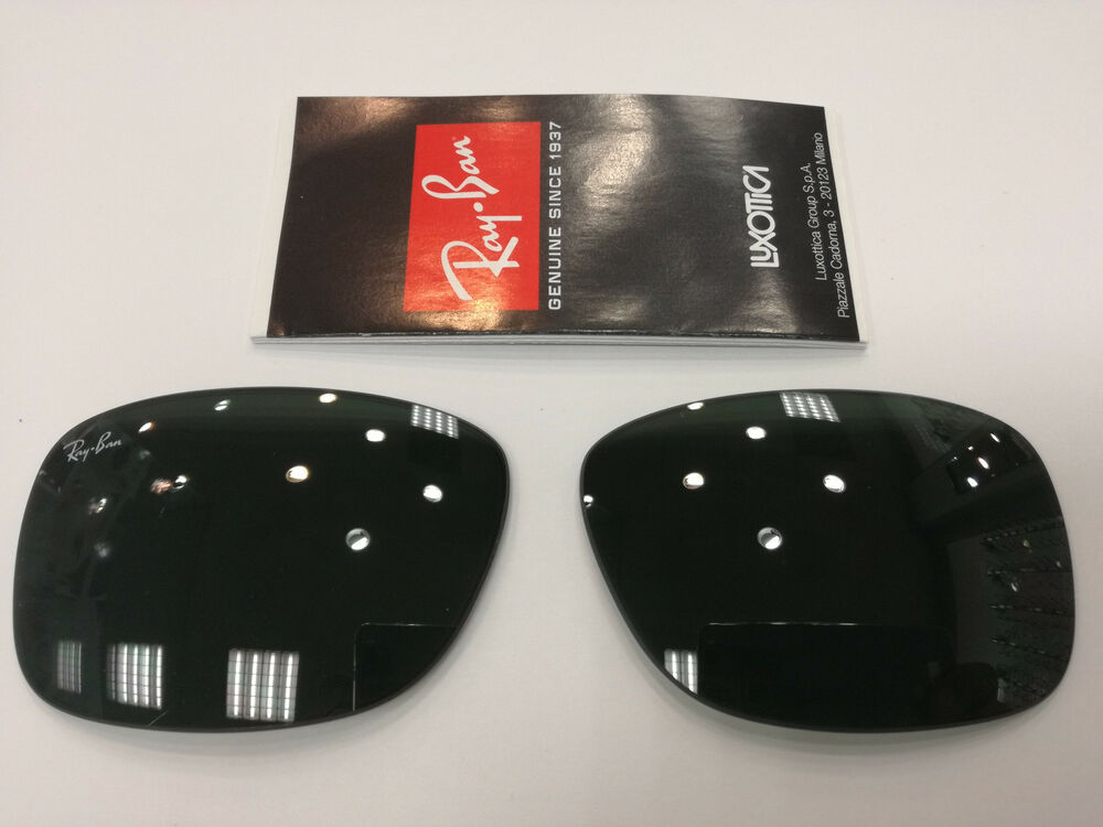 e36ebab0b41 Details about LENSES REPLACEMENT RAY-BAN RB3522 004 71 64 GREEN G15 LENTI  LENS