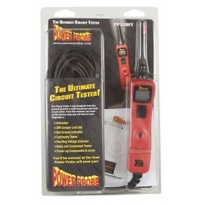 Power Probe III 3 Circuit Tester, Red, Clam Shell PPRPP3CSRED Brand New!