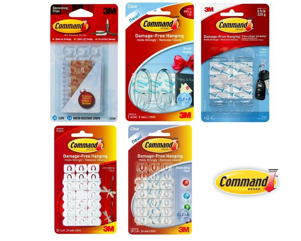 Command Decorating Clips: Home, Furniture & DIY | eBay