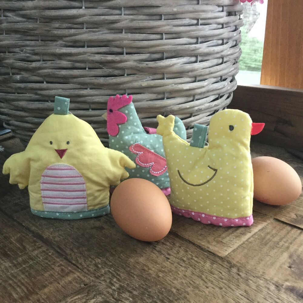 Childrens easter gifts ebay fabric easter egg cosy chick hen duck gisela graham children gift warmer kids negle Image collections
