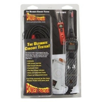 Power Probe III 3 Circuit Tester, Carbon Fiber, Clam Shell PPRPP3CSCARB
