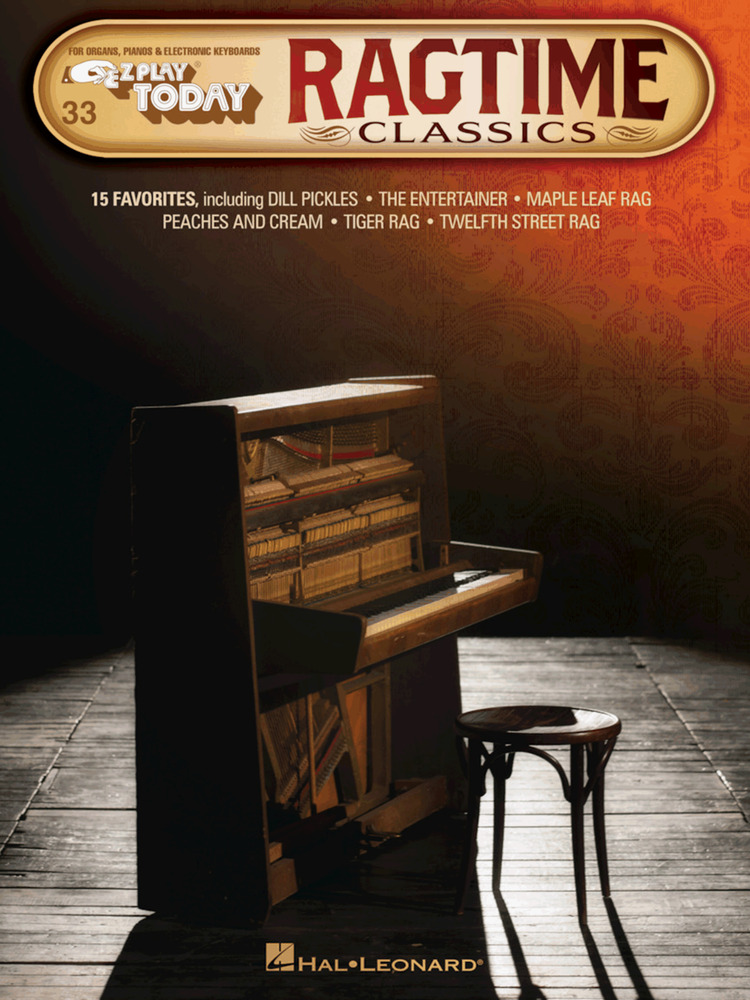 E-Z Play Today 33 EASY RAGTIME Keyboard Music Book Scott Joplin EZ ...