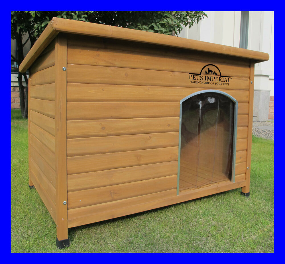 Rugged Large Dog House: Extra/Large Norfolk Dog Kennel Kennels House With