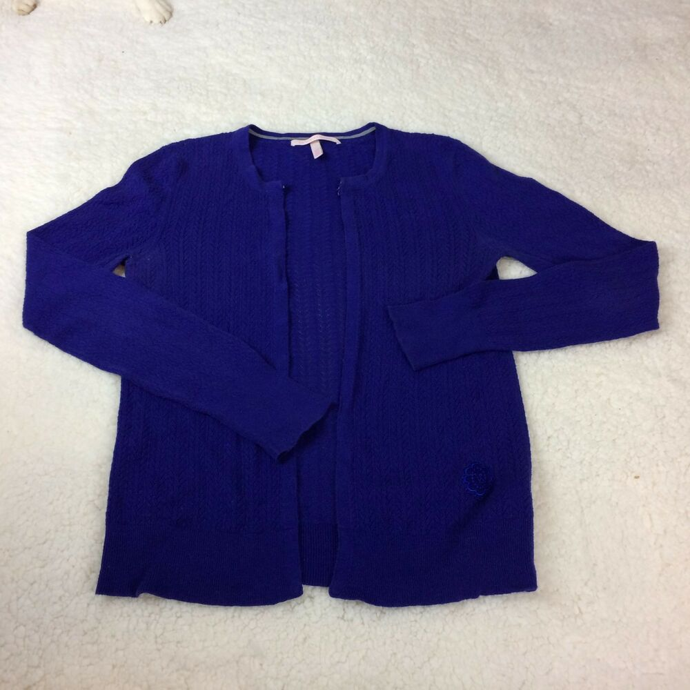 Front about M Size Details Hook Sweaters VICTORIA'S Eye Knit Women's SECRET Purple Light and SqAqUwO