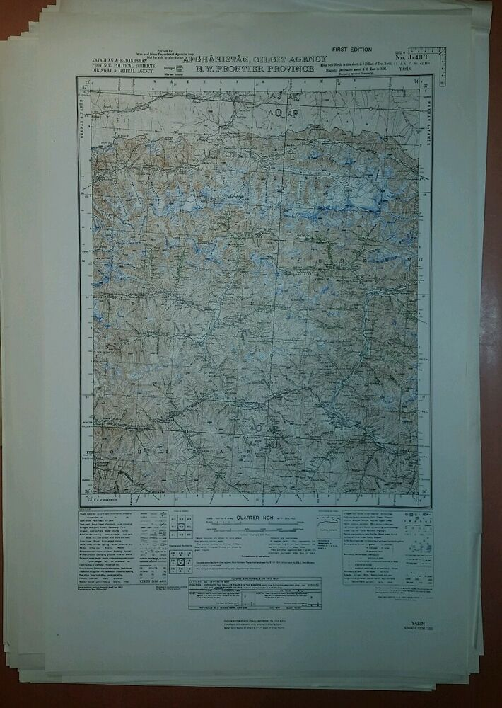 1940u0027s US Army Map Collection GSGS 3919